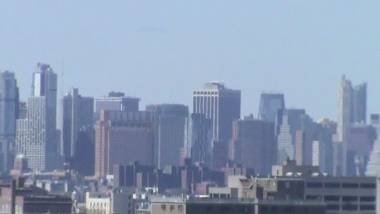 Manhattan view from Brownsville